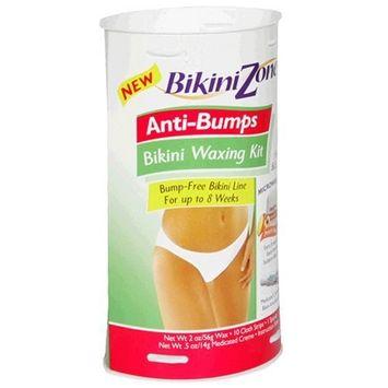Bikini Zone Anti-Bumps Bikini Waxing Kit, 1 kit (Pack of 2)