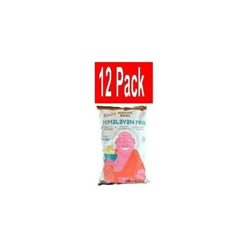 LesserEvil Budda Bowl Organic Popcorn Himalayan Pink 5 oz
