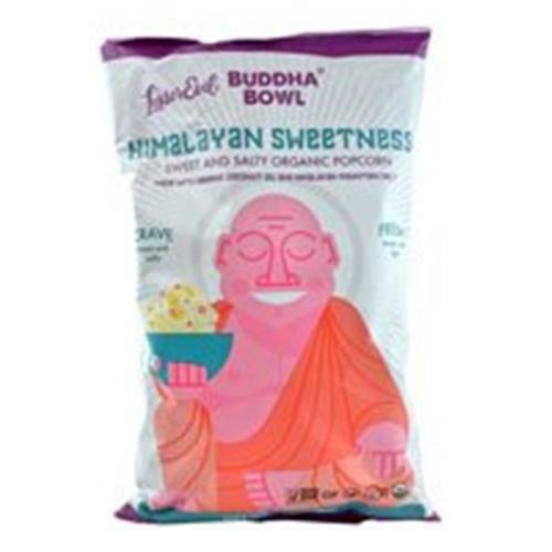 LesserEvil Budda Bowl Organic Popcorn Himalayan Sweetness 7 oz