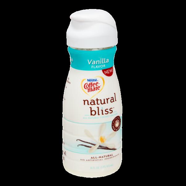 Nestlé Coffee-Mate Vanilla Natural Bliss Coffee Creamer