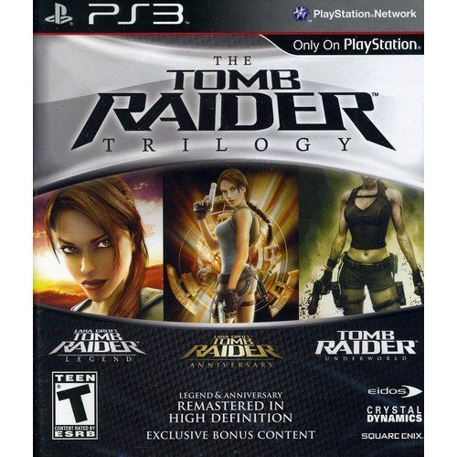 PS3 - Tomb Raider Trilogy - By Square Enix