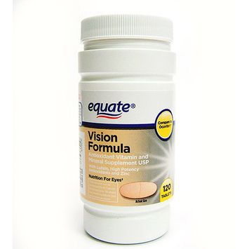 Equate Vision Formula Dietary Supplement 120 ct