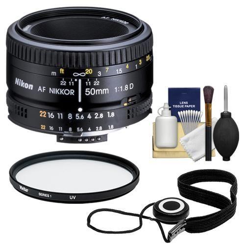 Nikon 50mm f/1.8D AF Zoom Nikkor Lens