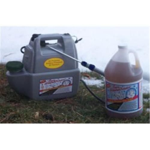 Bare Ground Empty Battery Operated Ice Melting Sprayer