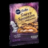 Pillsbury Melts S'More Sensation Filled Cookies - 9 CT