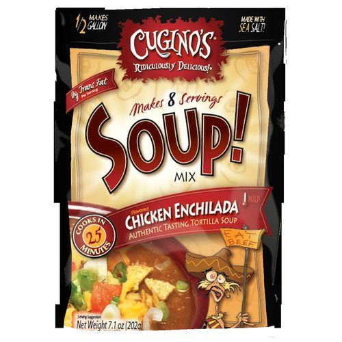 Cugino's Gourmet Foods, Inc. Cugino's Chicken Enchilada Soup! Mix, 7.1 oz