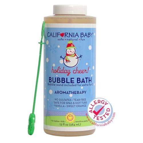 California Baby - Bubble Bath Holiday Cheer - 13 oz.