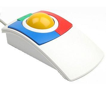 Kidtrac Ergonomic Kids USB Trackball Mouse By Ergoguys