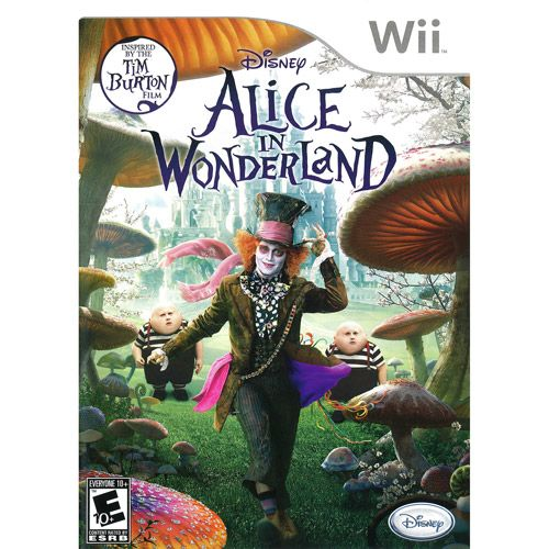 Disney Interactive 10132500 Alice In Wonderland Wii