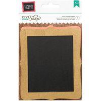 American Crafts DIY Shop 2 Chalkboards 4/Pkg-Colored Frames