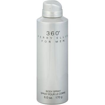 Perry Ellis for Men 360 Degrees Body Spray, 6 oz