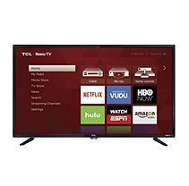"TCL - Refurbished 40"" Class (40"" Diag.) - LED-LCD TV - 1080p - 120 Hz - HDTV 1080p - High Glossy Black"