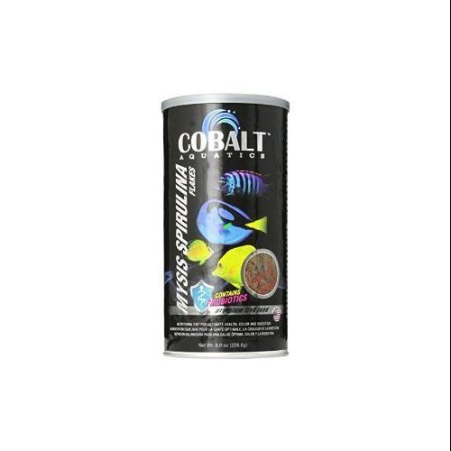 Royal Pet Products Cobalt Mysis Spirulina Marine Flake Fish Food 8oz