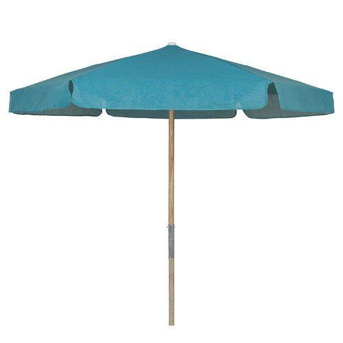 Fiberbuilt 7.5' Market Beach Umbrella Fabric: Red