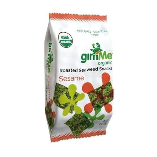 GimMe - Organic Roasted Seaweed Snacks Sesame - 0.17 oz.