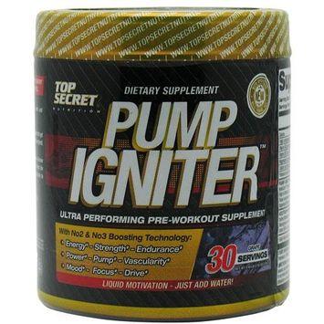 Top Secret Nutrition Nutrition Pump Igniter Grape - 30 Servings