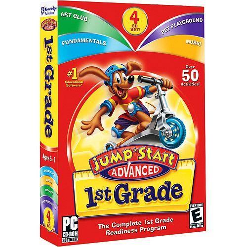 Knowledge Adventure 151422 Jumpstart Advanced 1st Grade 2.0