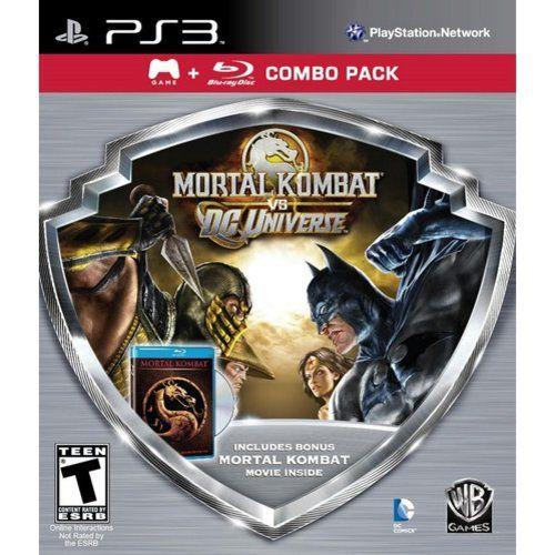 Warner Brothers Mortal Kombat vs. DC Universe Combo Pack