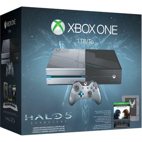 Microsoft Corp. Microsoft - Xbox One 1TB Limited Edition Halo 5: Guardians Bundle - Custom