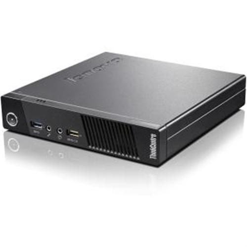 Lenovo ThinkCentre M73 10AY003HUS Desktop Computer - Intel Core i3 i3-4130T 2.90 GHz - Tiny - Business Black
