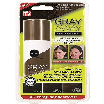 Gray Away Root Concealer- Dark Brown