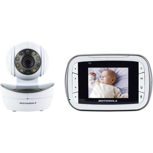 "Motorola 2.8"" Color Video Monitor With Pan/Tilt/Zoom Camera MBP41"