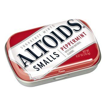 Altoids Smalls Peppermint Sugarfree Mints Single Pack, 0.37 Ounce