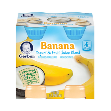 Gerber® Yogurt & Fruit Juice Blend Banana