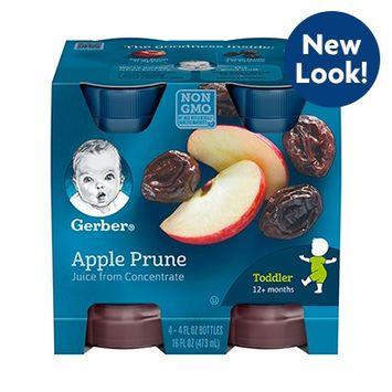 Gerber® 100% Juice Apple Prune