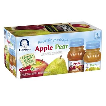 Gerber® 100% Juice Apple & Pear Fridge Pack