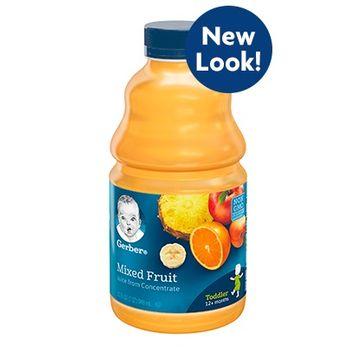 Gerber® 100% Juice Mixed Fruit