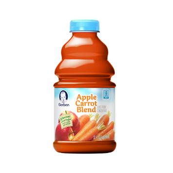 Gerber® 100% Fruit & Veggie Juice Apple Carrot Blend
