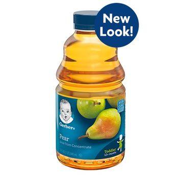 Gerber® 100% Juice Pear