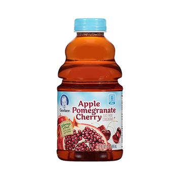 Gerber® 100% Juice Apple Pomegranate Cherry