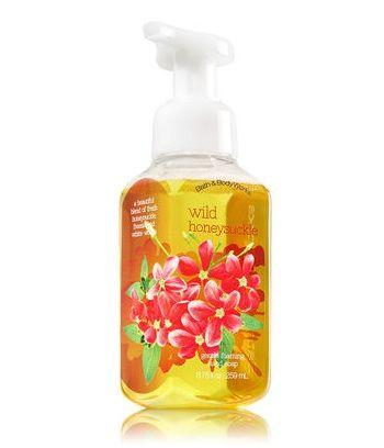 Bath & Body Works WILD HONEYSUCKLE Gentle Foaming Hand Soap