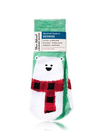 NWT Bath and Body Works shea infused and lounge socks