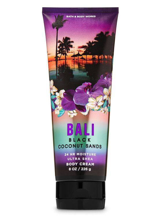 Bath & Body Works Black Coconut Sands Body Cream Bali 8 Oz Ships Free