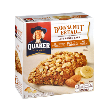 Quaker Life® Banana Nut Bread Soft Baked Bars