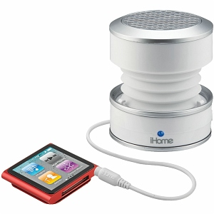 iHome Glowtunes Rechargeable Color Changing Stereo Mini Speaker