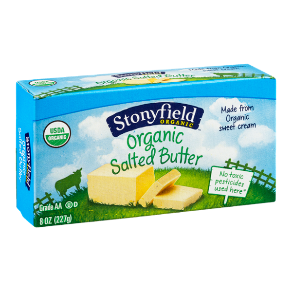 Stonyfield Organic Butter Salted