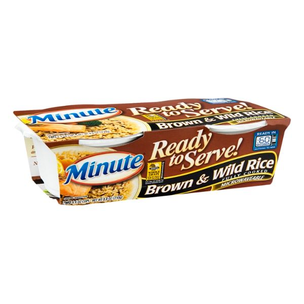 Minute Ready to Serve! Brown & Wild Rice - 2 CT