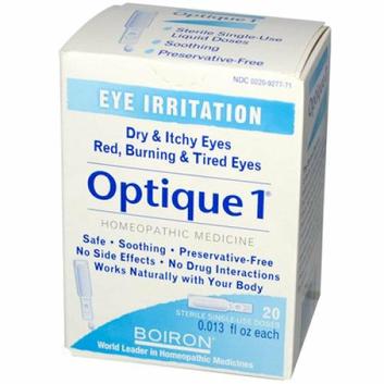 Boiron Optique 1 Minor Eye Irritation Drops 20 Doses