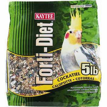 Kaytee Cockatiel Forti-Diet Bird Food - 5 lb.