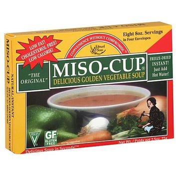 Edward & Sons Golden Vegetable Miso-Cup Soup