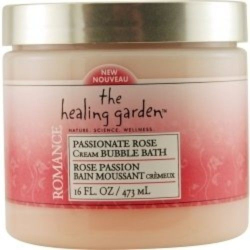 The Healing Garden Cream Bubble Bath - Passionate Rose: 16 OZ
