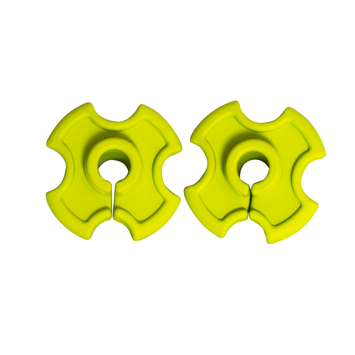 Comfort-tech Comfort-Tech Shaft Dampener-2 pk-Yellow