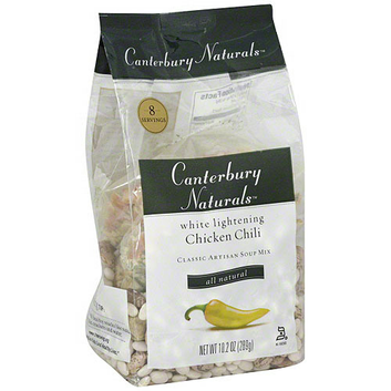 Canterbury Naturals White Lightning Chicken Chili Soup Mix