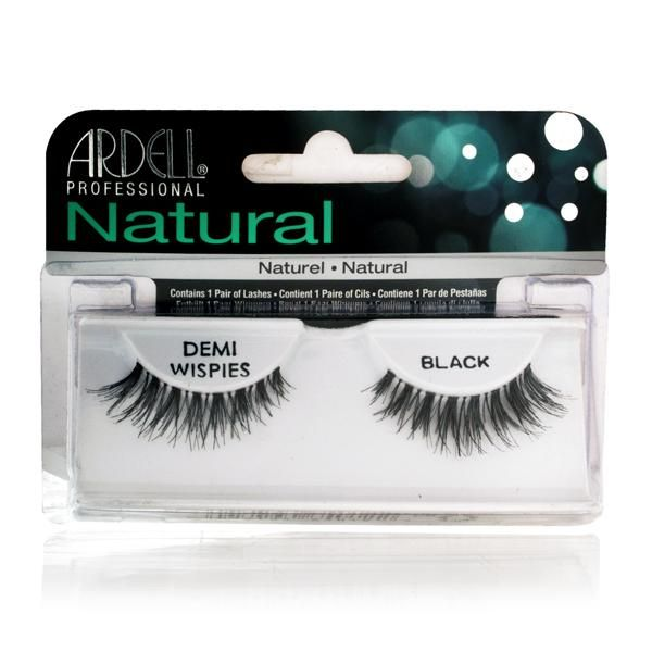 Ardell InvisiBands Lashes Glamour - Demi Wispies Black 240437