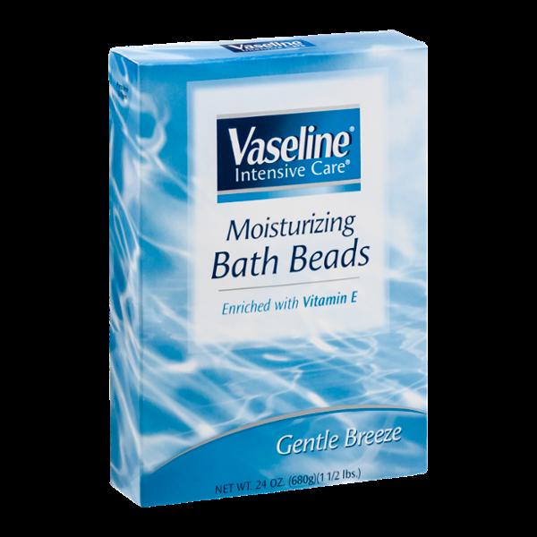 Vaseline Intensive Care Moisturizing Bath Beads Gentle Breeze
