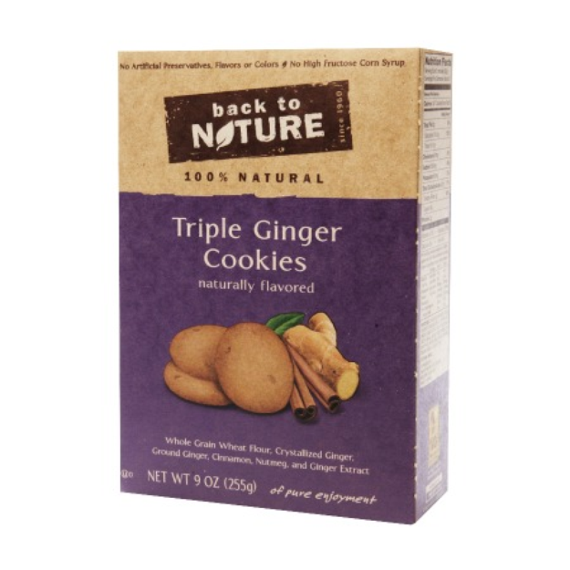 Back to Nature Triple Ginger Cookie, 9 oz